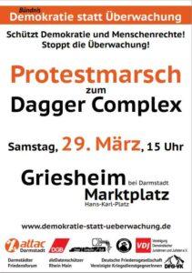 Protestmarsch Dagger Complex