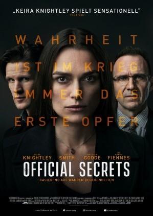 Filmplakat Official Secrets
