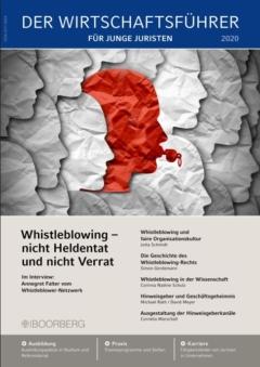 Cover Wirtschaftsführer für Junge Juristen