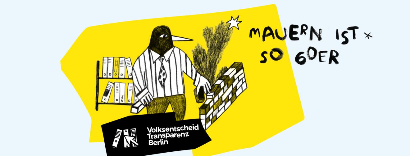 Logo Volksentscheid Transparenz