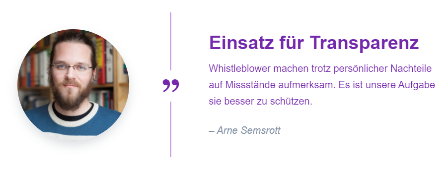Testimonial Arne Semsrott