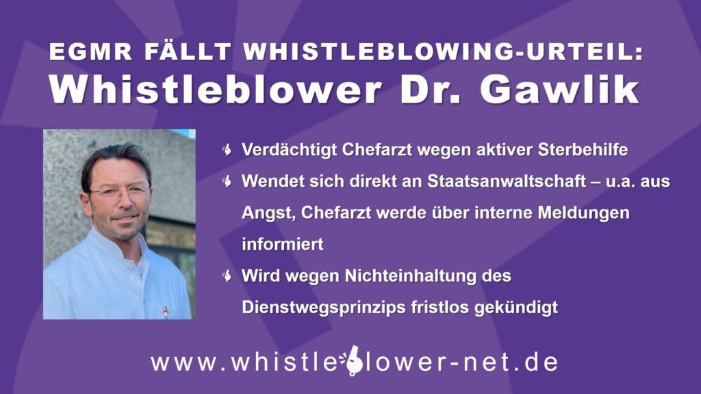 EGMR-Urteil Dr. Gawlik gg. Liechtenstein